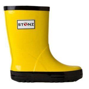 Stonz Kids Yellow Rain Boots